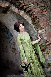 Arya Stark at Acorn Hall by LiviaPoe