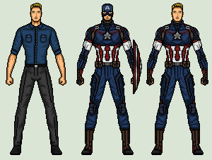 CAPTAIN AMERICA (AGE OF ULTRON) by vandersonmetal