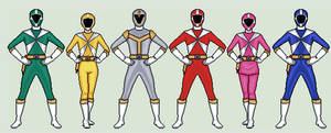 Power Rangers Lightspeed Rescue by vandersonmetal