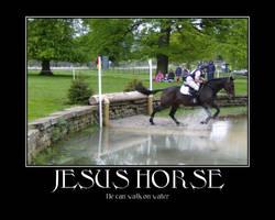 Jesus Horse by AllinahPony