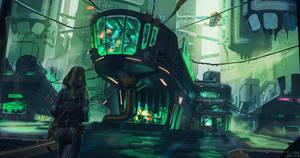 Cyber City by JefWu