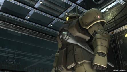 MS-05L Zaku I Sniper Type by Turbofurby