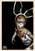 When Zombie Bunnies Attack by Ghouldaddy