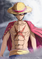 Luffy | ONE PIECE by Dragon--anime