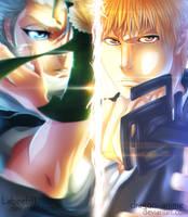 Toushiro  - Ichigo    |  BLEACH [collad] by Dragon--anime
