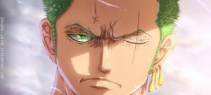 Zoro    ONE PIECE  909 by Dragon--anime