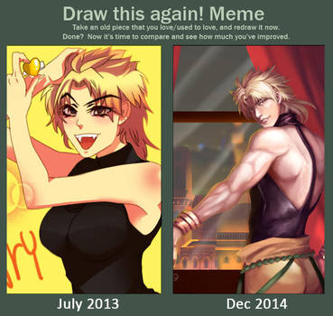 Draw this again : Dio revolution by vok2269