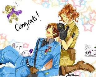 Congrats... by Pinkalala