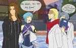 KH : awkward... by Pinkalala