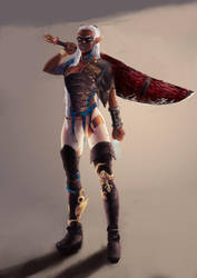KOTANI - Warrior from the red sand by Akinotora