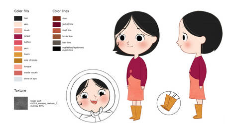 Saoirse from Song of the Sea by Itsoncraft