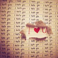 I hate you. by MKho