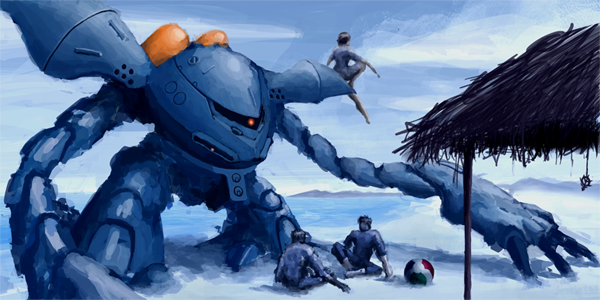 zeon beach party / hygogg's day off by whatthebooty