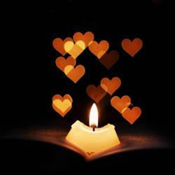 Love Candle by Kara-a