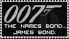 The Name Is Bond. James Bond. by CaL1BuR