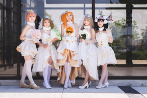 Love Live - Wedding Group ft. Kyuu.BE by Eiloria