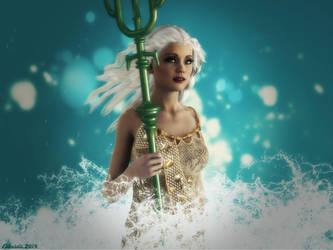 Banetha - The Mermaid by Edheldil3D