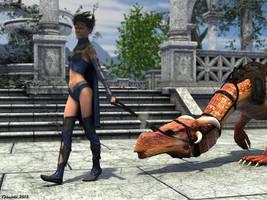 My firedragon by Edheldil3D