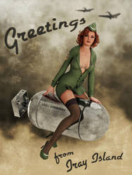 Bombshell (with text) by Edheldil3D