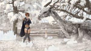 My Icedragon by Edheldil3D
