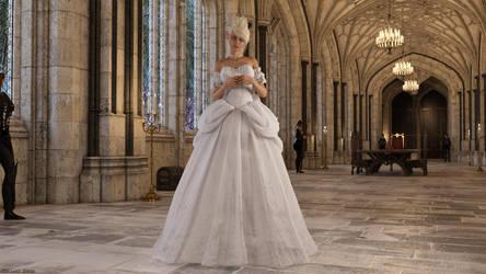 Vanya Eldanis - The White Queen of Elbenheim by Edheldil3D
