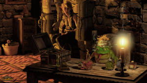 WoE: The Right Potion - Loads for Toads! by Edheldil3D