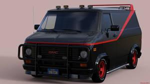 The A-Team Van by Edheldil3D