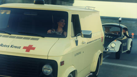 Bloodmobile kidnapping! by Edheldil3D