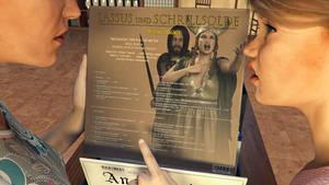 The Record Shop: Lassus und Schrillsolde by Edheldil3D