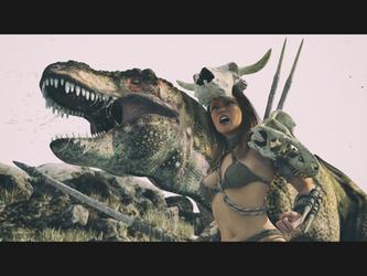 Roaring by Edheldil3D