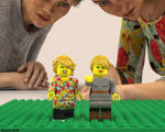 Brick Girls by Edheldil3D