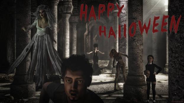 Happy Halloween 2018 by Edheldil3D
