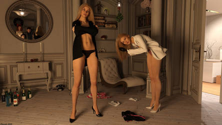 New Year 2019 - You are still not dressed yet !? by Edheldil3D