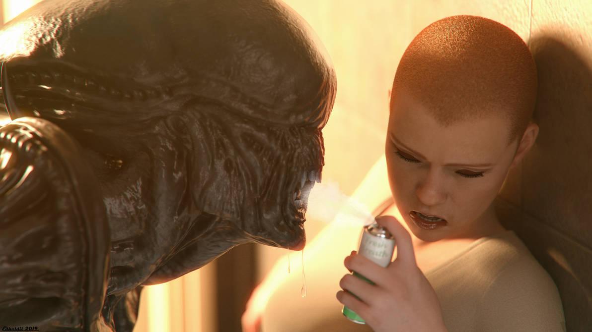 Alien Breath by Edheldil3D