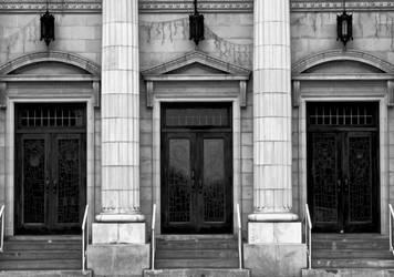 Three Doors by CanoeGuru