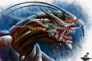 The Biomechanical Beast - for NanoFoX projects by Unreal-Forever