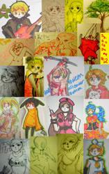Sketch Dump NUMERO DOS by Cuppa-tan
