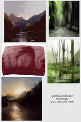 Landscapes by Cuppa-tan