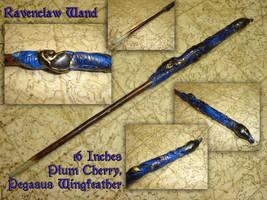 Ravenclaw Wand by tarorae