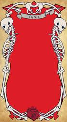 Uphelios Tarot - Bones template by tarorae