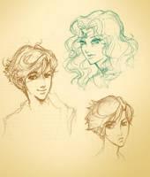 Sailor Doodles by debringles