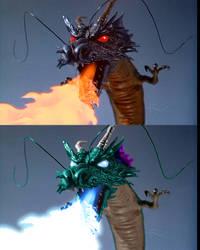 Editing Experiment: Asiatic Dragon by MatthiasTeivel