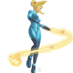 Zero Suit Samus by Callilf