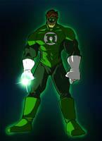 Green Lantern   aka Hal Jordan by Misterho