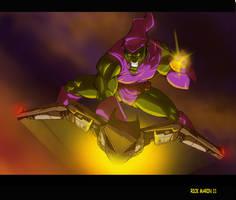 Green Goblin by Misterho