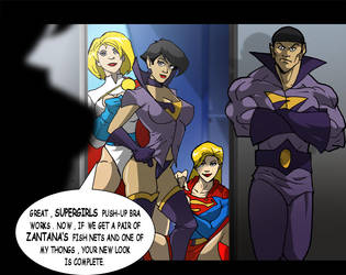 At The Hall of Justice 3... by Misterho