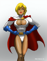Power Girl by Misterho