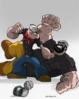 Popeye by Misterho