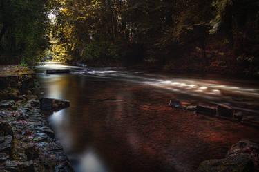 La riviere tranquille by k-simir