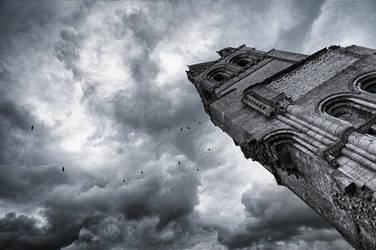 Abbaye dans la tourmente by k-simir